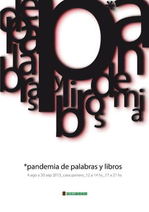 Pandemia de palabras y libros